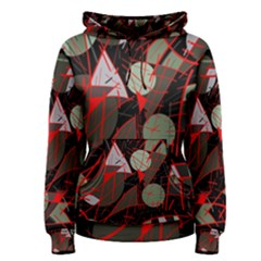 Artistic abstraction Women s Pullover Hoodie