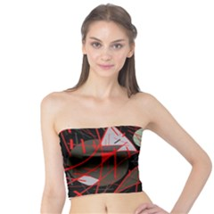 Artistic abstraction Tube Top