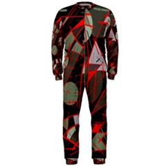 Artistic abstraction OnePiece Jumpsuit (Men)
