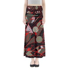 Artistic abstraction Maxi Skirts