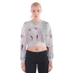 Bububun Women s Cropped Sweatshirt