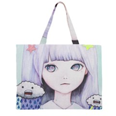 My Little Cloud Large Tote Bag
