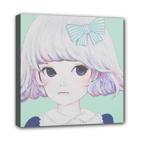 Spring Mint! Mini Canvas 8  X 8