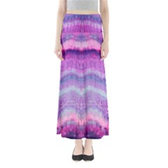 Tie Dye Color Maxi Skirts