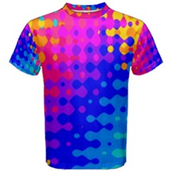 Totally Trippy Hippy Rainbow Men s Cotton Tees