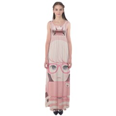 Gamegirl Girl Empire Waist Maxi Dress