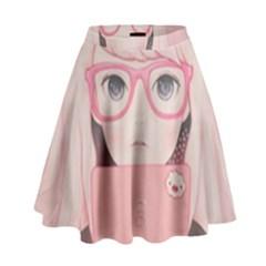 Gamegirl Girl High Waist Skirt