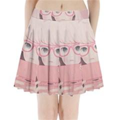Gamegirl Girl Pleated Mini Mesh Skirt(P209)