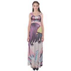 Sweet Boredom Empire Waist Maxi Dress