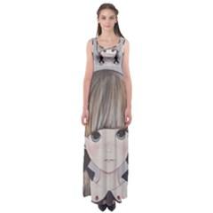Strawberry Things  Empire Waist Maxi Dress