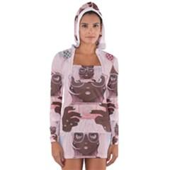 Gamergirl 3 Women s Long Sleeve Hooded T Shirt