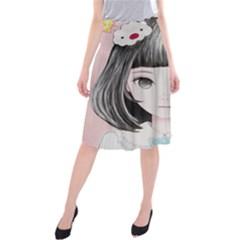 Maybe March<3 Midi Beach Skirt