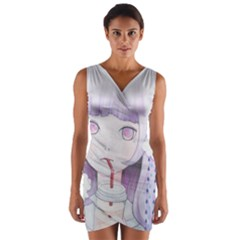 My Little Cloud 2 Wrap Front Bodycon Dress