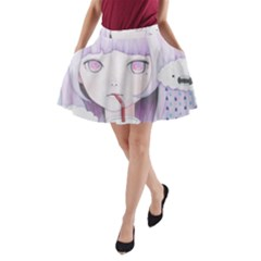 My Little Cloud 2 A-Line Pocket Skirt