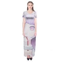 My Little Cloud 2 Short Sleeve Maxi Dress