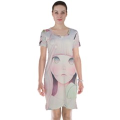 Soy sauce Uchuuw Short Sleeve Nightdress