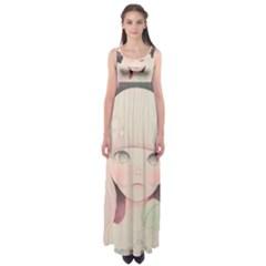 Soy Sauce Uchuuw Empire Waist Maxi Dress
