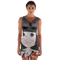 Maplesyrupsyndrome4 0 Wrap Front Bodycon Dress