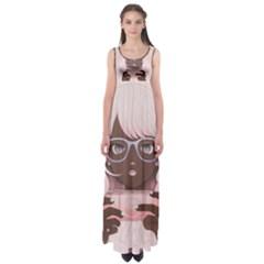 Gamergirl 3 P Empire Waist Maxi Dress