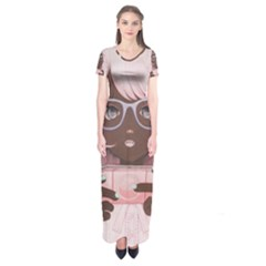 Gamergirl 3 P Short Sleeve Maxi Dress