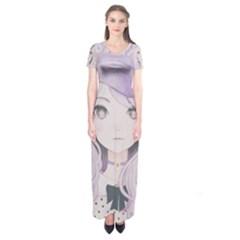 Ricehime Short Sleeve Maxi Dress