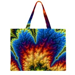 Amazing Special Fractal 25a Zipper Large Tote Bag