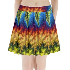 Amazing Special Fractal 25a Pleated Mini Mesh Skirt(p209)