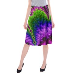 Amazing Special Fractal 25c Midi Beach Skirt