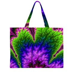 Amazing Special Fractal 25c Zipper Large Tote Bag