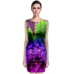 Amazing Special Fractal 25c Classic Sleeveless Midi Dress