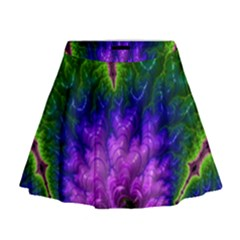 Amazing Special Fractal 25c Mini Flare Skirt