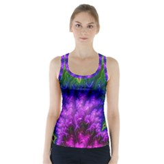 Amazing Special Fractal 25c Racer Back Sports Top