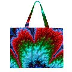 Amazing Special Fractal 25b Zipper Large Tote Bag