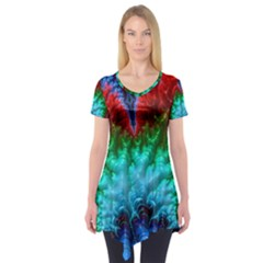 Amazing Special Fractal 25b Short Sleeve Tunic
