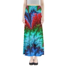 Amazing Special Fractal 25b Maxi Skirts