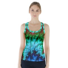 Amazing Special Fractal 25b Racer Back Sports Top