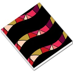 Abstract waves Small Memo Pads