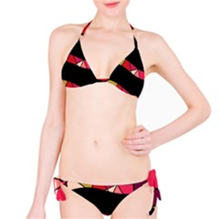 Abstract waves Bikini Set