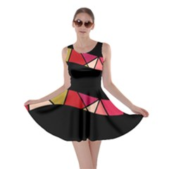 Abstract waves Skater Dress