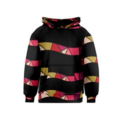 Abstract waves Kids  Pullover Hoodie