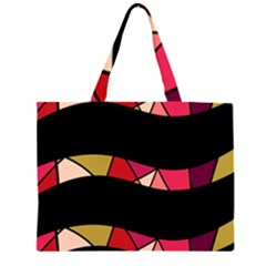 Abstract waves Large Tote Bag