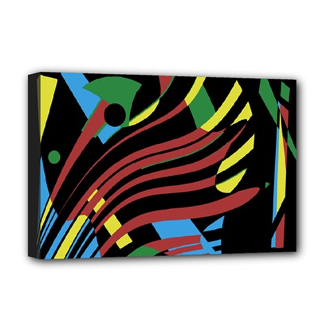 Optimistic abstraction Deluxe Canvas 18  x 12