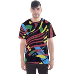 Optimistic abstraction Men s Sport Mesh Tee