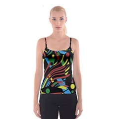 Optimistic abstraction Spaghetti Strap Top