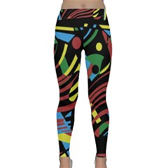 Optimistic abstraction Yoga Leggings