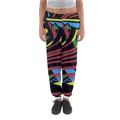 Optimistic abstraction Women s Jogger Sweatpants