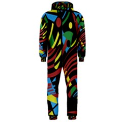 Optimistic abstraction Hooded Jumpsuit (Men)