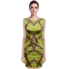 K,ukujjj (4) Classic Sleeveless Midi Dress