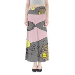 Decorative abstraction Maxi Skirts