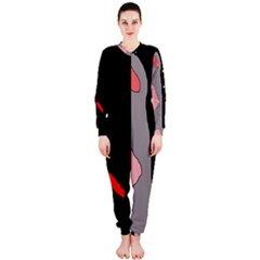 Crazy abstraction OnePiece Jumpsuit (Ladies)